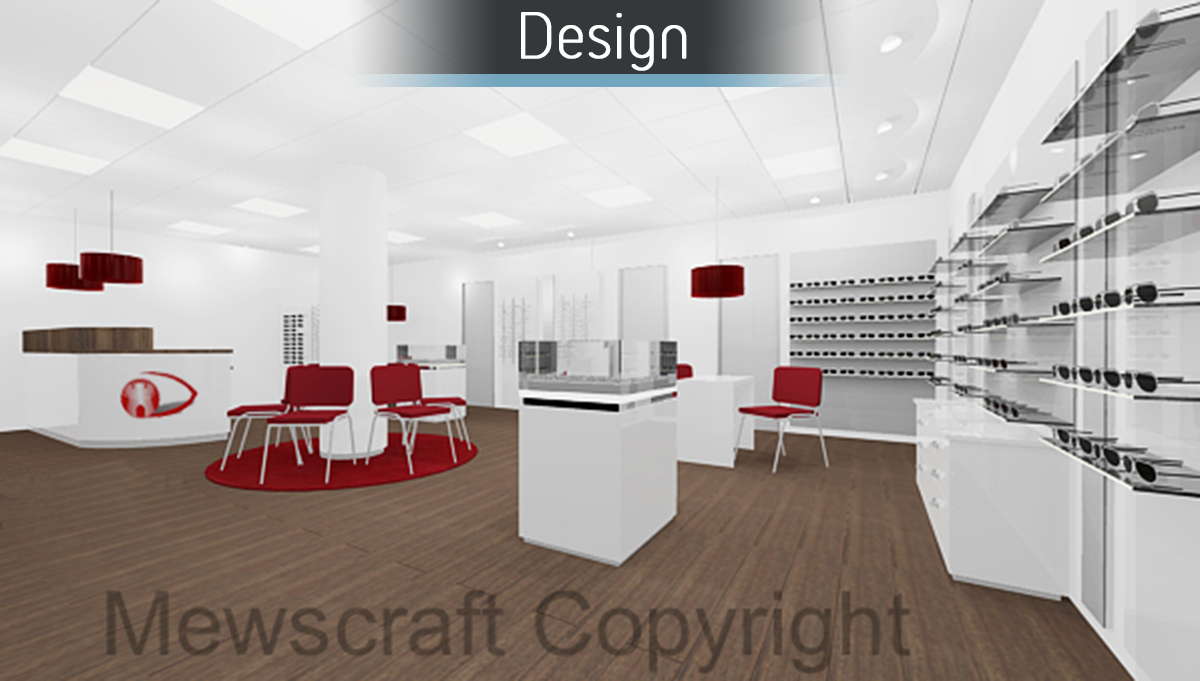 Castle Opticians - Design 1