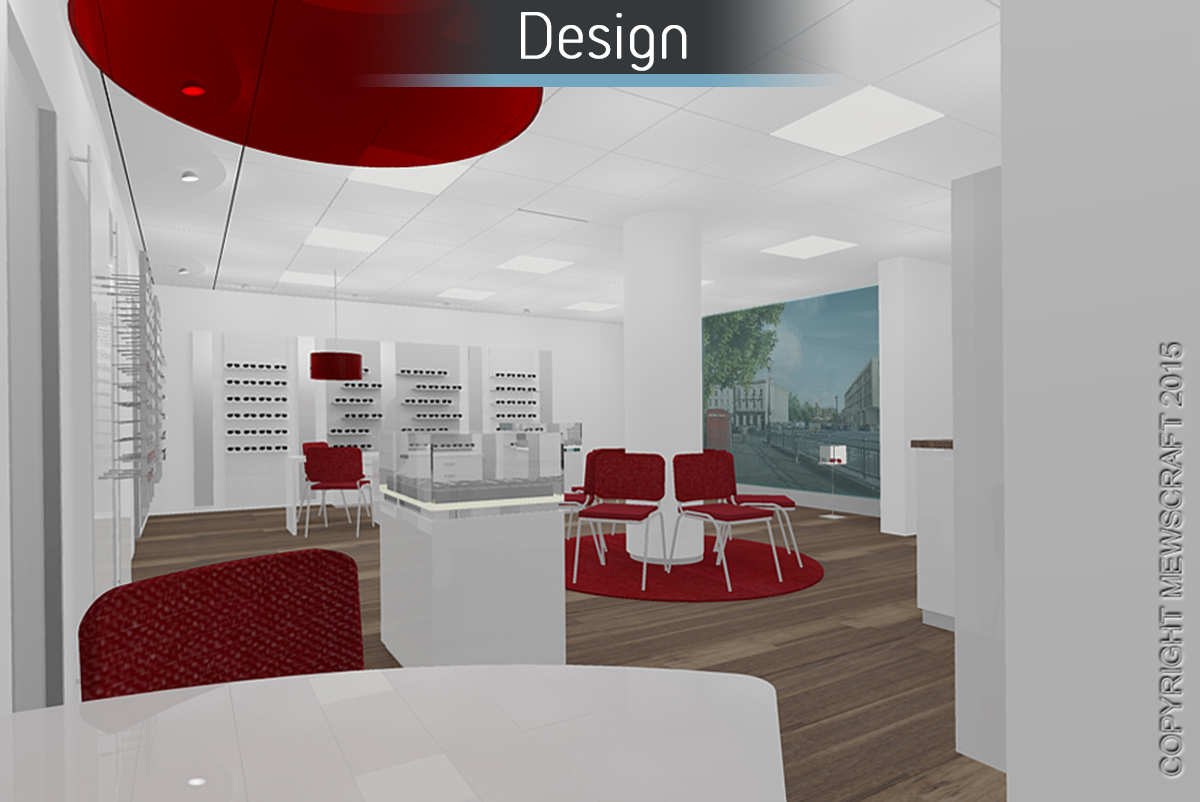 Castle Opticians - Design 2