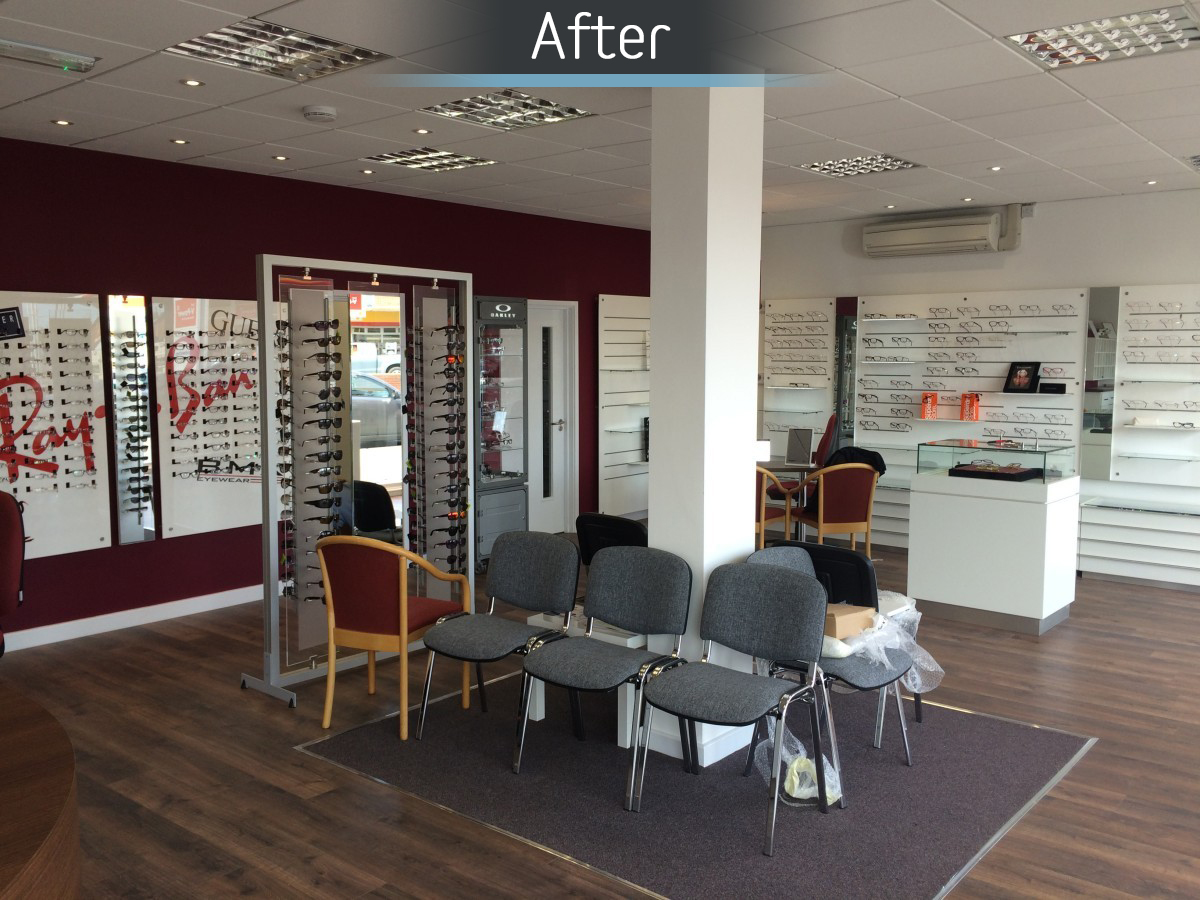Castle Opticians - Fitted 2