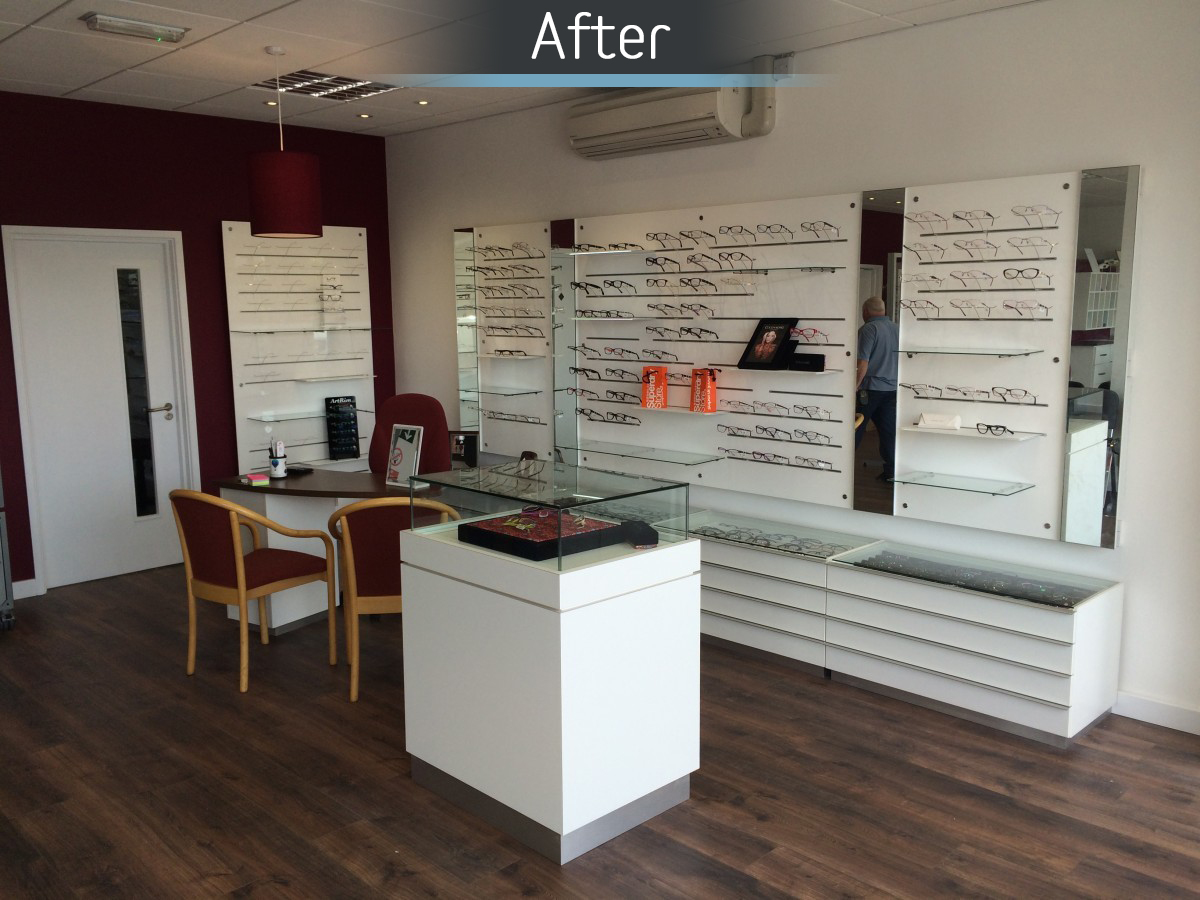 Castle Opticians - Fitted 3
