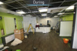 Family Eyecare Opticians during commercial interior design and refurbishment by Mewscraft