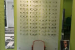 Family Eyecare Opticians acrylic frame display, commercial interior design and refurbishment by Mewscraft