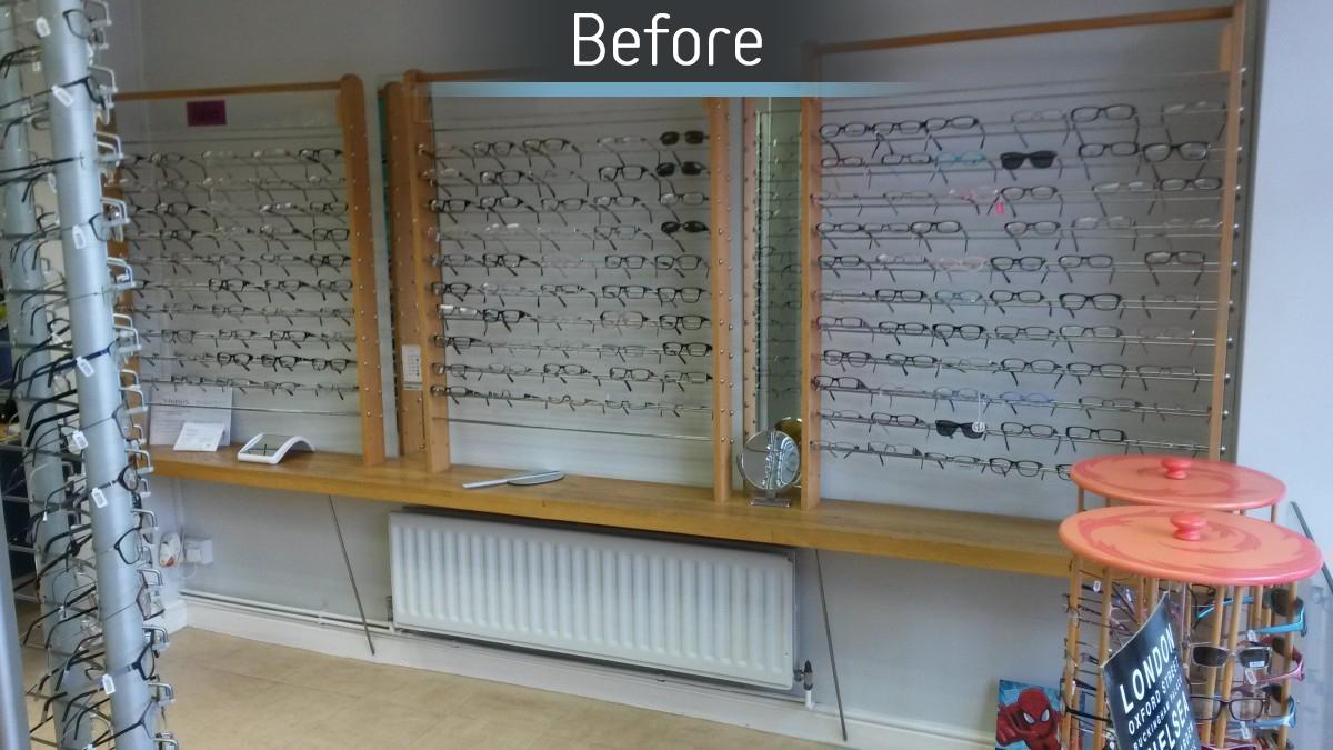 Hynes Optometrists - Before 1