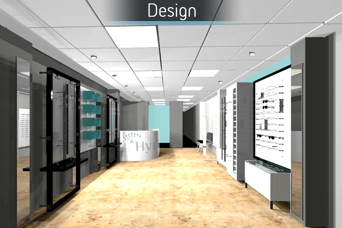 Hynes Optometrists - Design 1