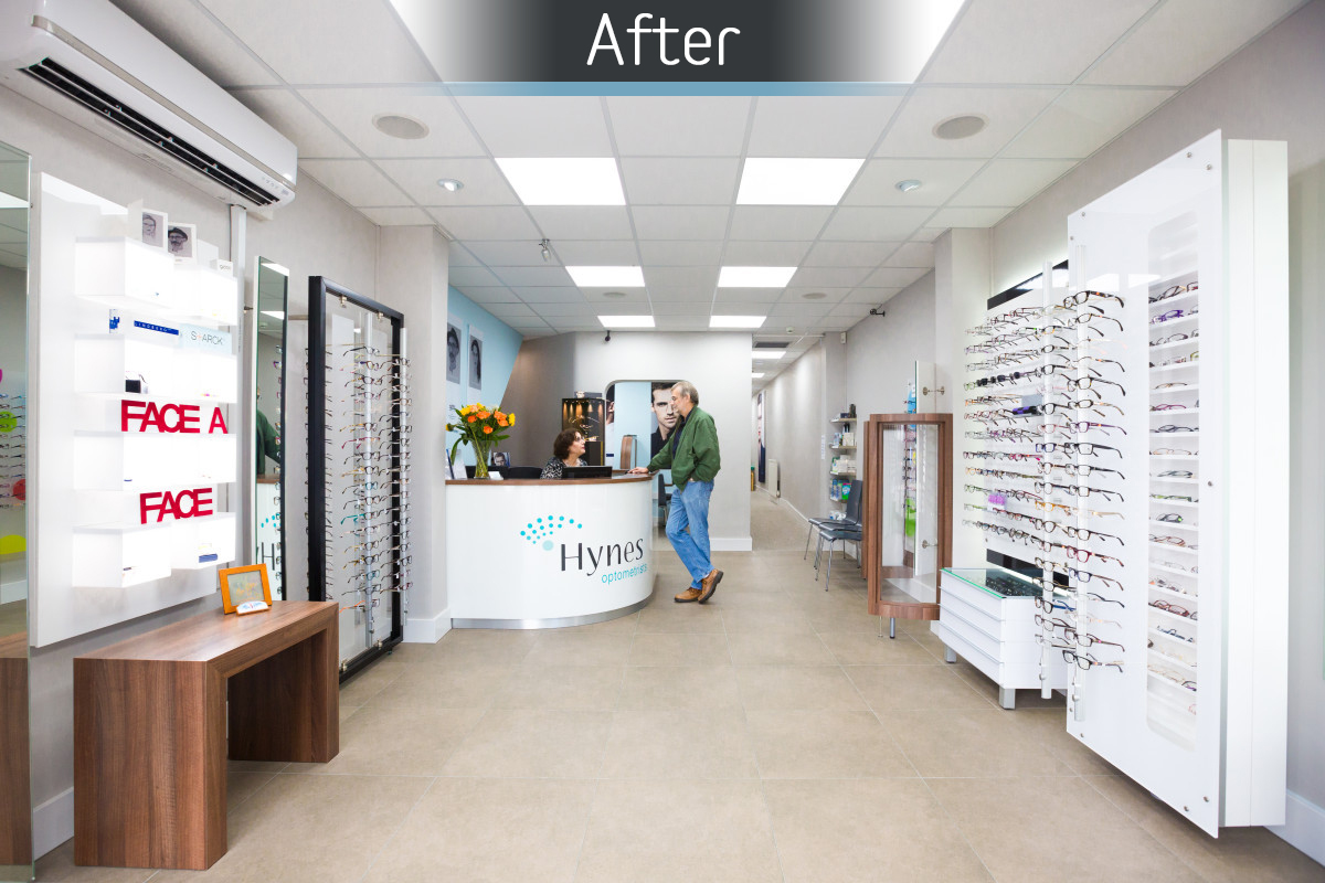 Hynes Optometrists - Fitted 3