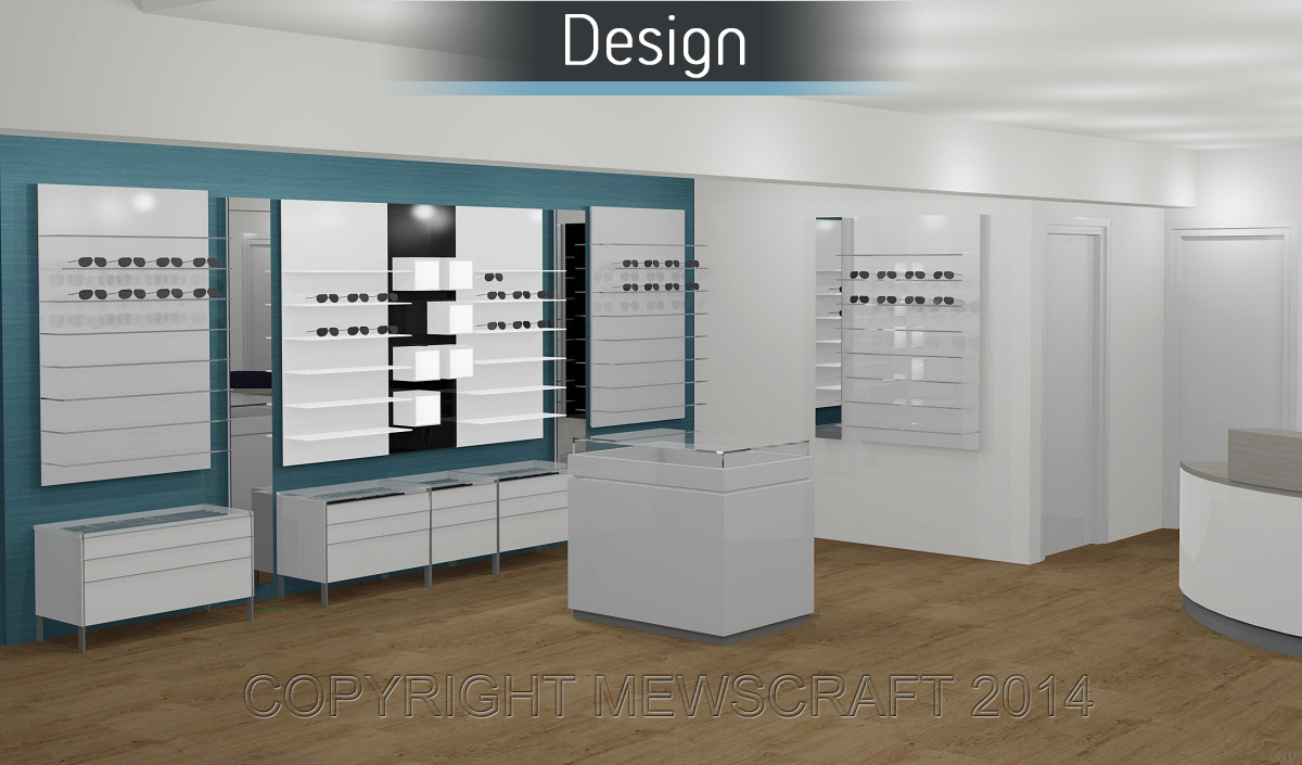Norma Davies Opticians - Design 1