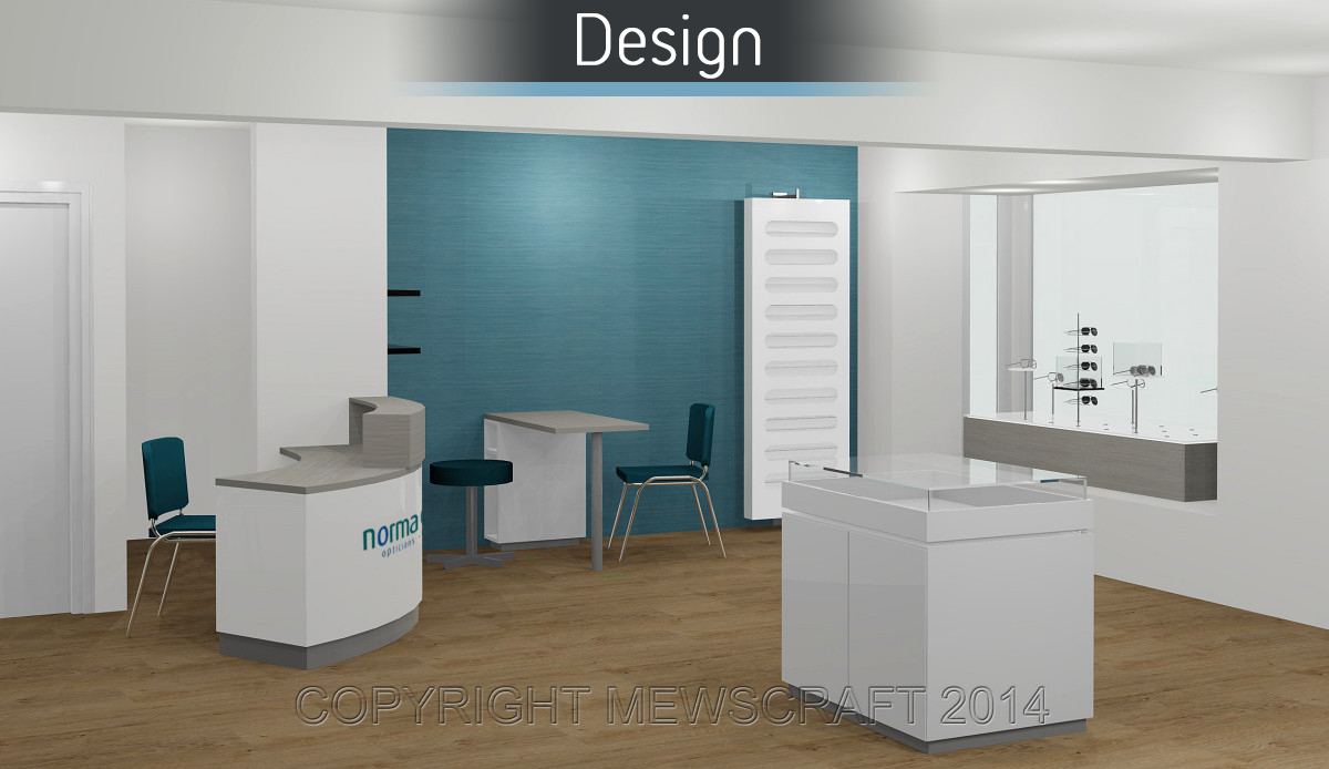Norma Davies Opticians - Design 2