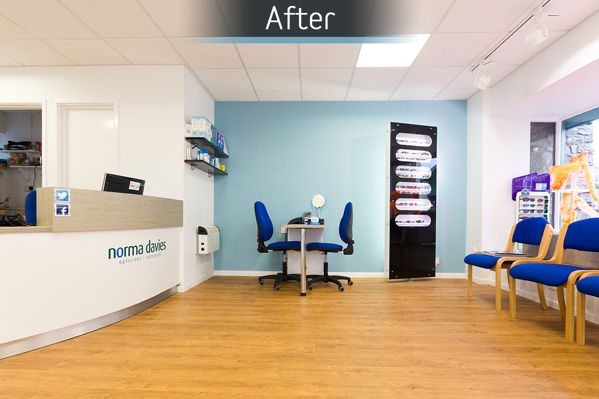 Norma Davies Opticians - Fitted 2