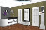The Optical Studio Opticians 3D design for commercial interior design and refurbishment by Mewscraft