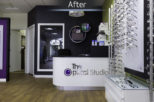 The Optical Studio Opticians after commercial interior design and refurbishment by Mewscraft