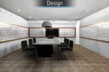 St Nicolas head office 3D design proposal for commercial Interior design and refurbishment by Mewscraft