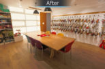 St Nicolas, London commercial Interior design and refurbishment by Mewscraft