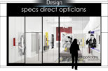Specs direct 3D design for commercial interior design and refurbishment by Mewscraft