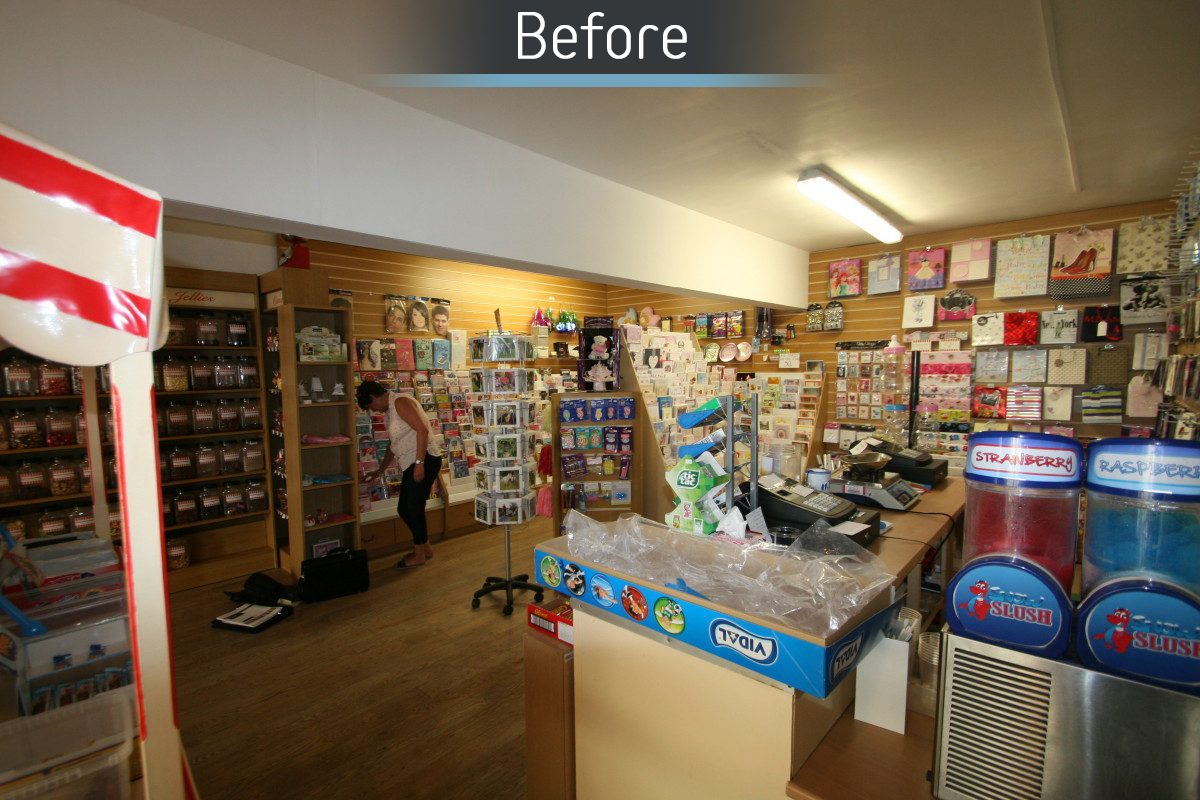 Norma Davies Opticians - Before 2