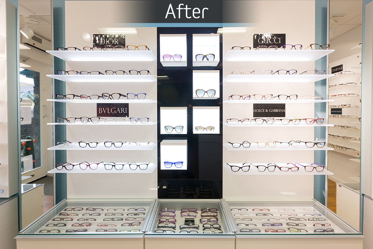 Norma Davies Opticians - Fitted 4