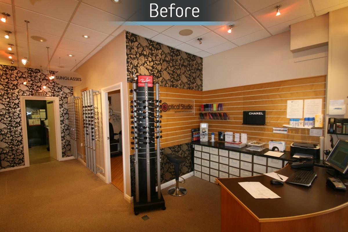 The Optical Studio - Before 3