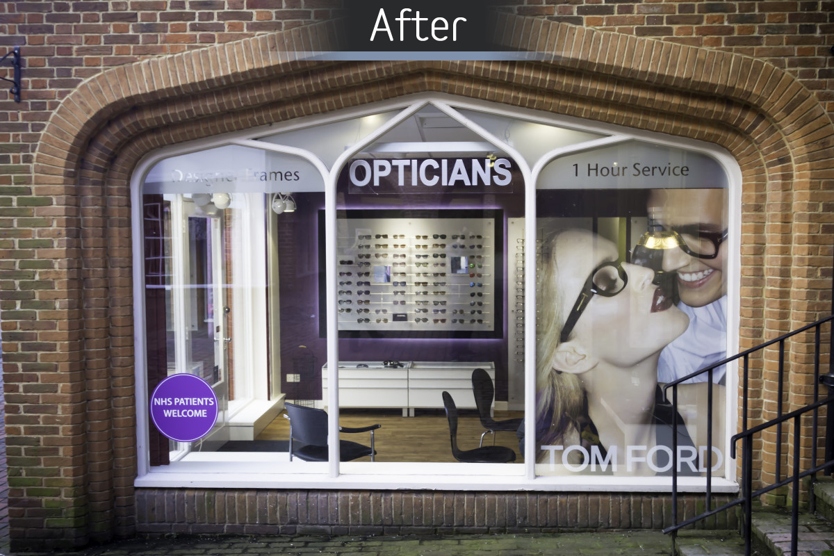 The Optical Studio - Fitted 2