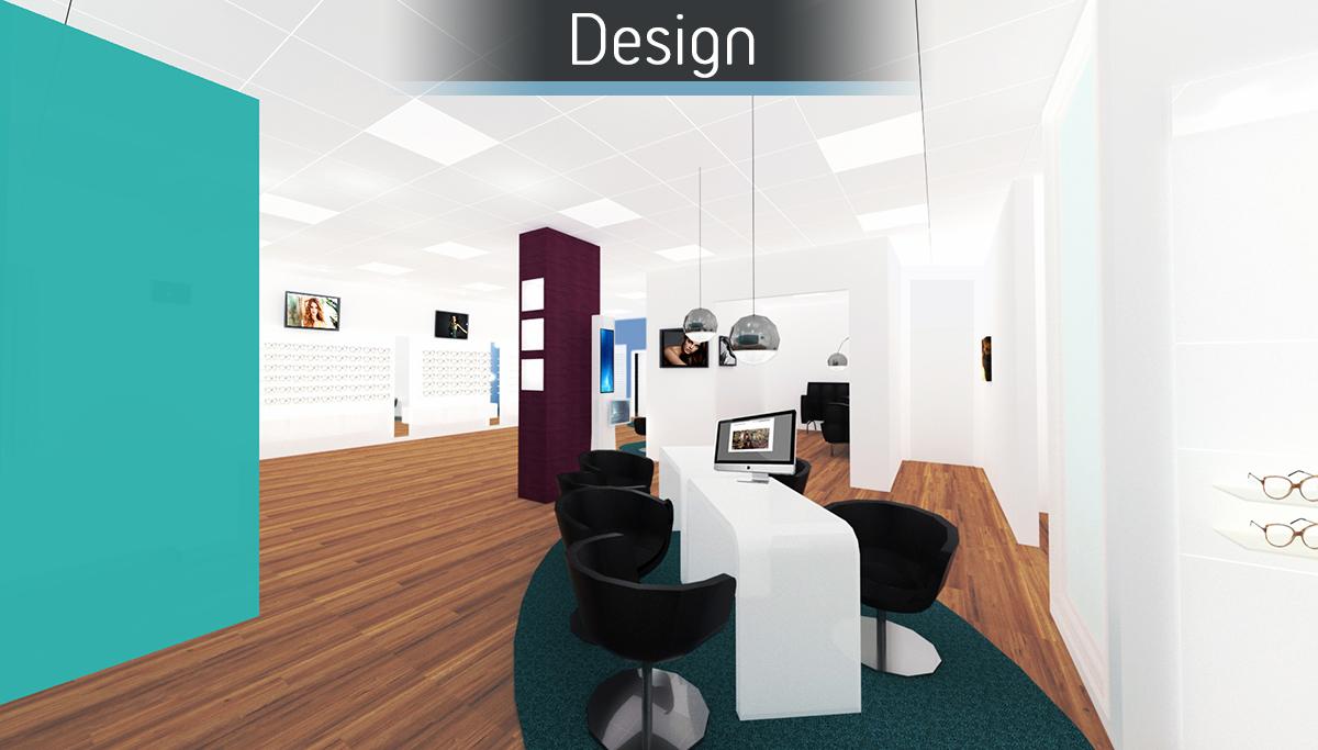 Healthy U Optometrists -  Design 2