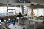 Glasgow university during commercial Interior design and refurbishment by Mewscraft