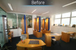 City London University before commercial Interior design and refurbishment by Mewscraft