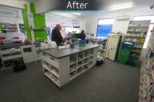 Norfolk street pharmacy, commercial Interior design and refurbishment by Mewscraft