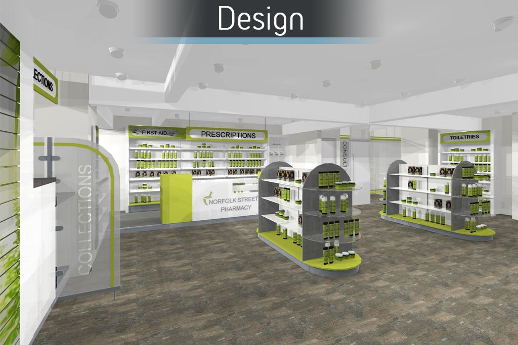 Norfolk St Pharmacy -  Design 1