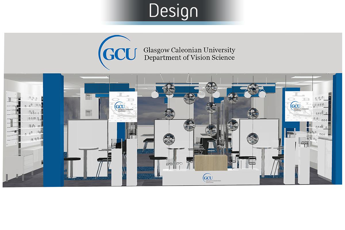 Glasgow Caledonia University - Design 1