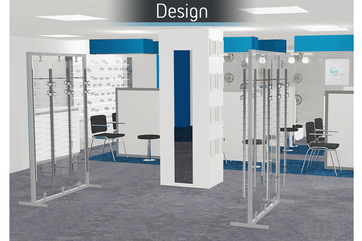 Glasgow Caledonia University - Design 3