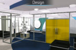 Hoya head office 3D proposal for commercial Interior design and refurbishment by Mewscraft