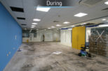 Hoya head office during commercial Interior design and refurbishment by Mewscraft