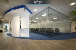 Hoya head office, commercial Interior design and refurbishment by Mewscraft