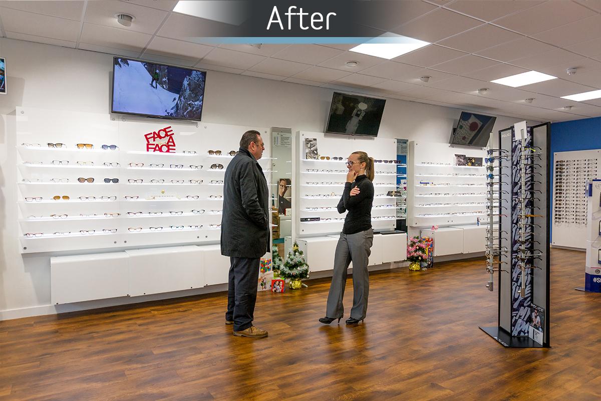 Healthy U Optometrists - After 1