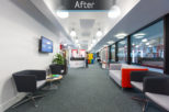 City London University, commercial Interior design and refurbishment by Mewscraft