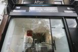 Coton & Hamblin Opticians shop front, commercial Interior design and refurbishment by Mewscraft