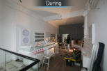 Coton & Hamblin Opticians during commercial Interior design and refurbishment by Mewscraft