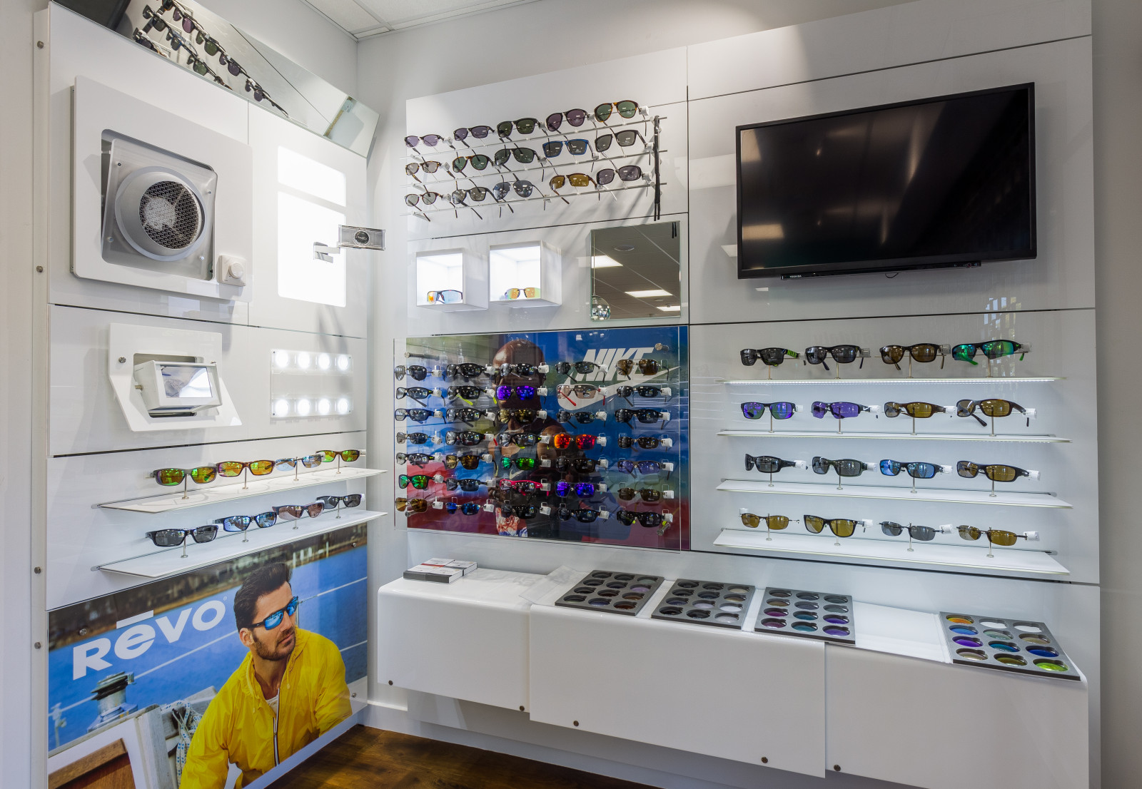 Sports Shop display