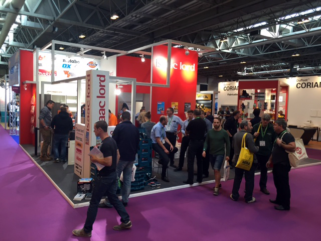 Exhibition Stand Attractors : Nec exhibition stand for isaac lord drives sales mewscraft