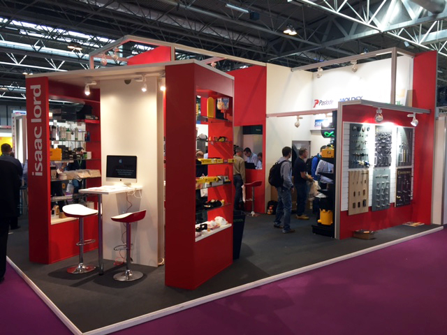 NEC Exhibition Stand for Isaac Lord drives sales