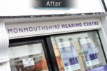 Monmouthshire Hearing Centre after commercial Interior design and refurbishment by Mewscraft