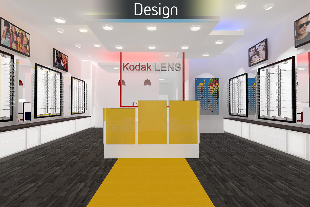 Dunstable Eye Centre 3D Proposal for commercial Interior design and refurbishment by Mewscraft