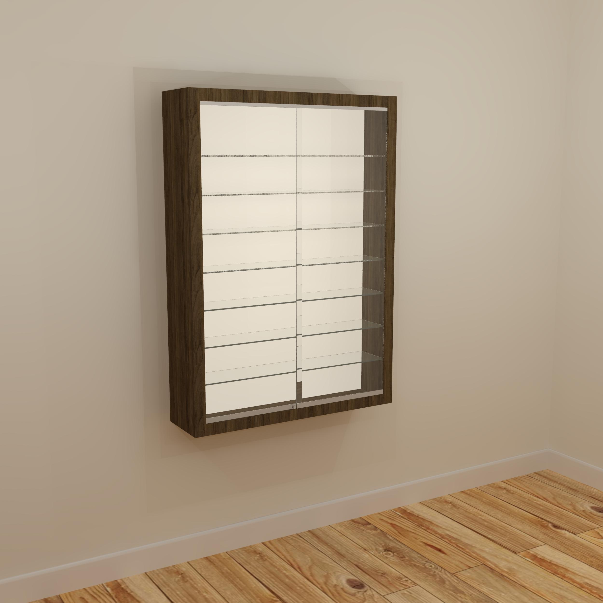 Anita Lockable Display Cabinet 10/14