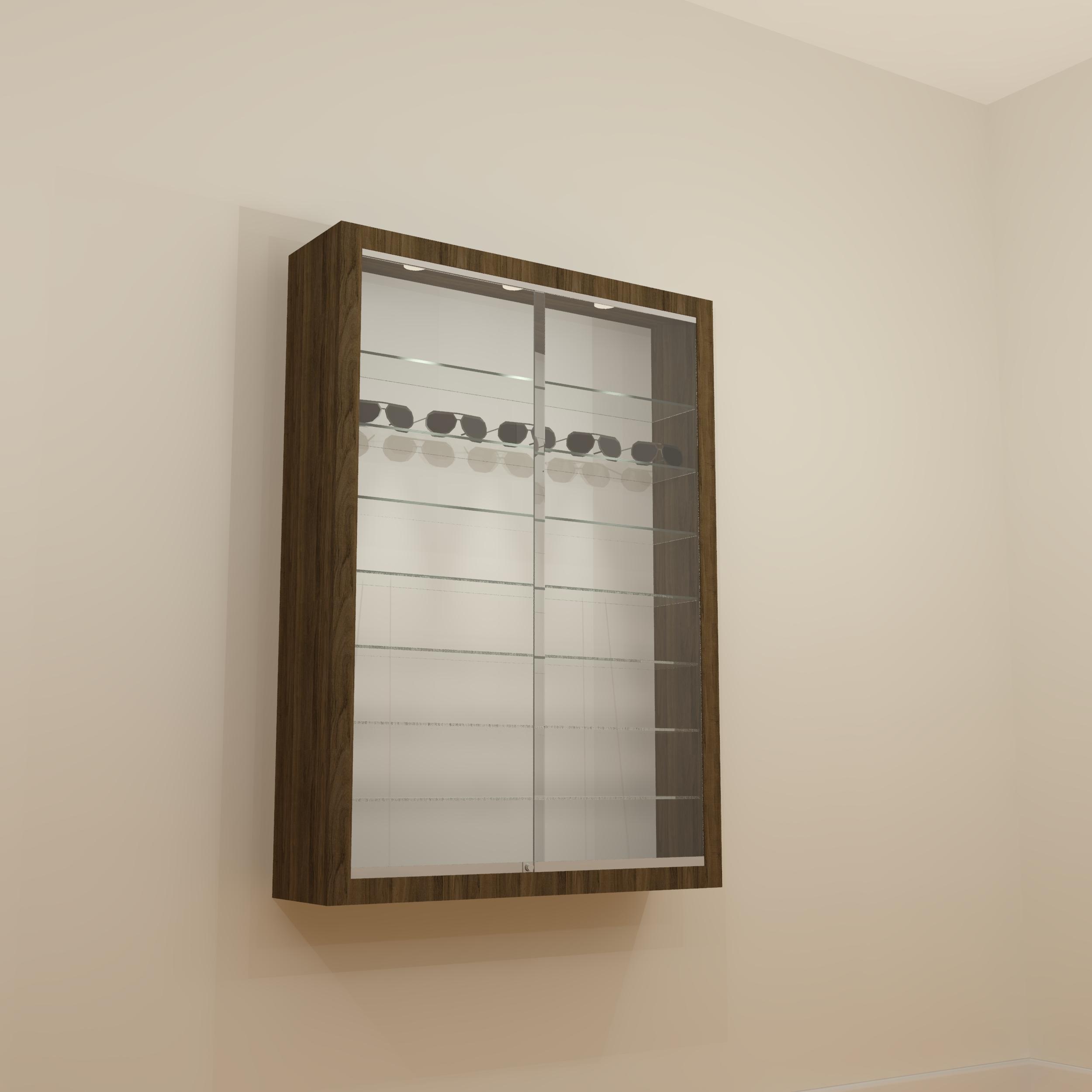 Zoe Lockable Display Cabinet 10/14