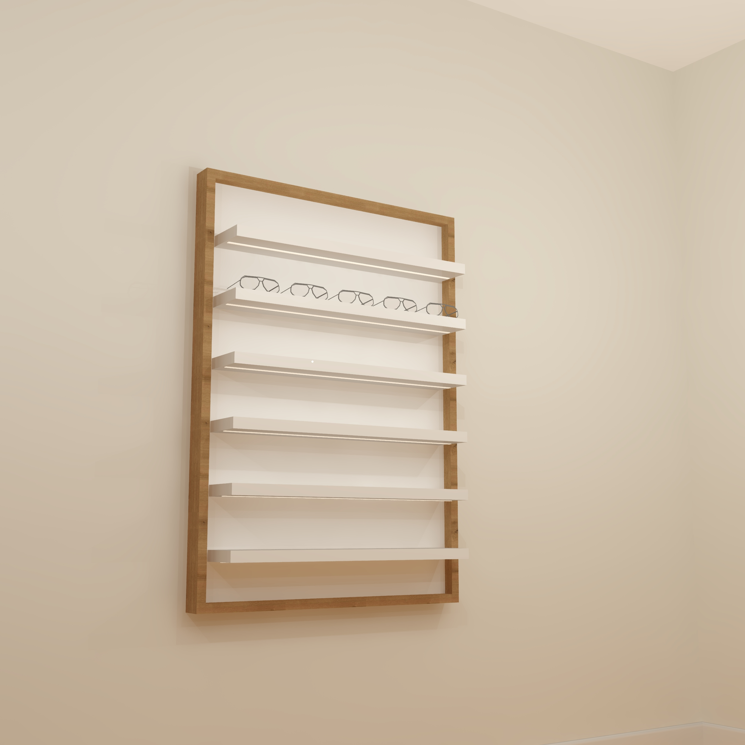 Lola LED Shelf Display 10/14
