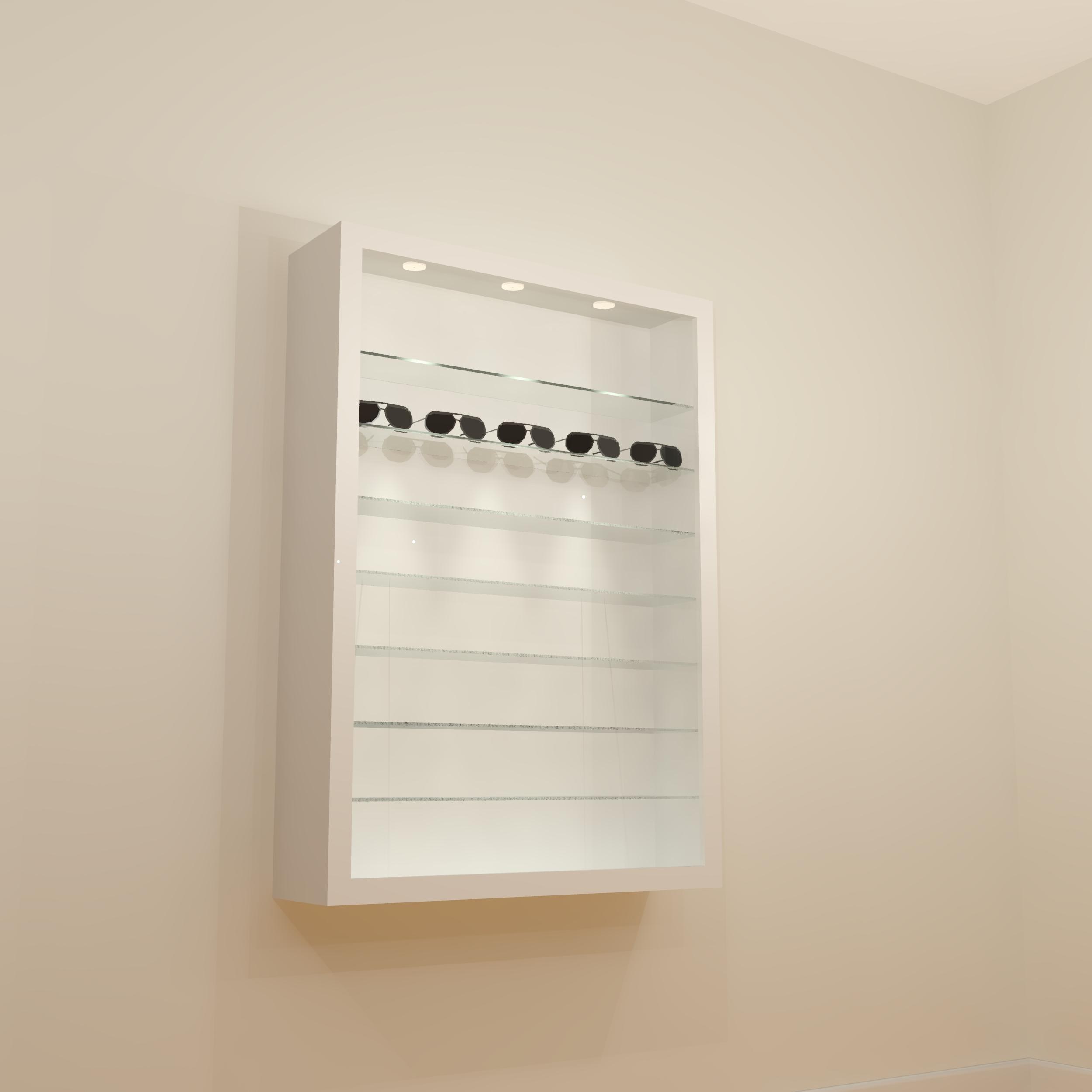 Zoe Display Cabinet 10/14