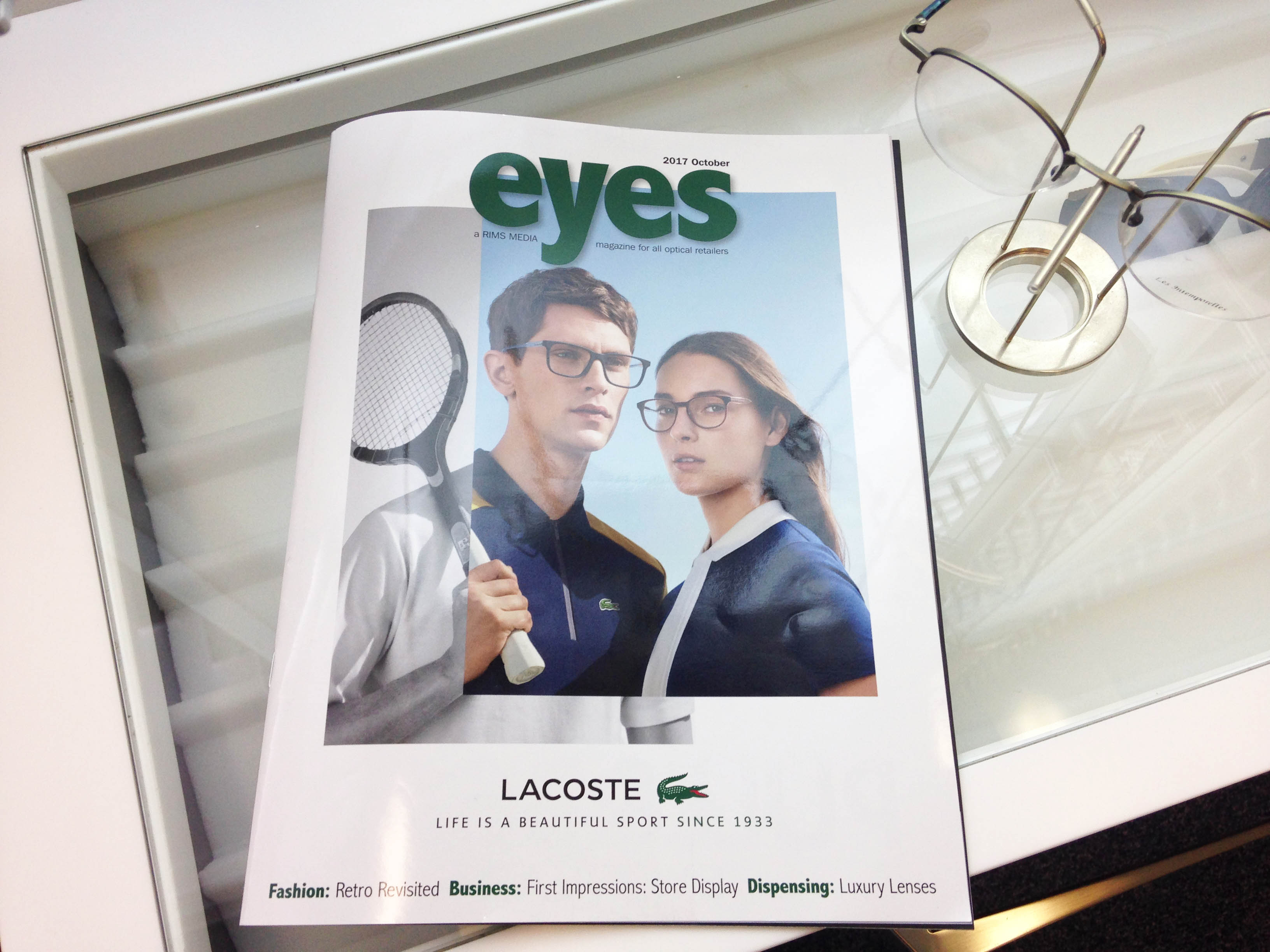 Mewscraft features in Eyes Magazine October 2017