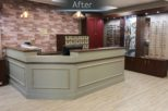 Fulgoni Opticians after commercial Interior design and refurbishment by Mewscraft