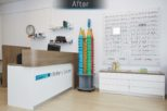 Bellamy Opticians after commercial Interior design and refurbishment by Mewscraft