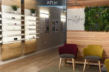 Dipple & Conway Opticians retail after commercial Interior design and refurbishment by Mewscraft
