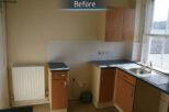 Before photo of residential refurbishment