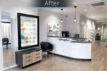Abingdon Eye Centre Opticians after commercial Interior design and refurbishment by Mewscraft